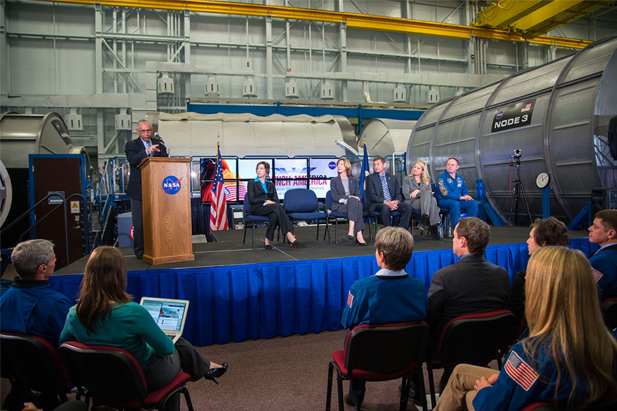 NASA Administrator Charles Bolden discusses the agency