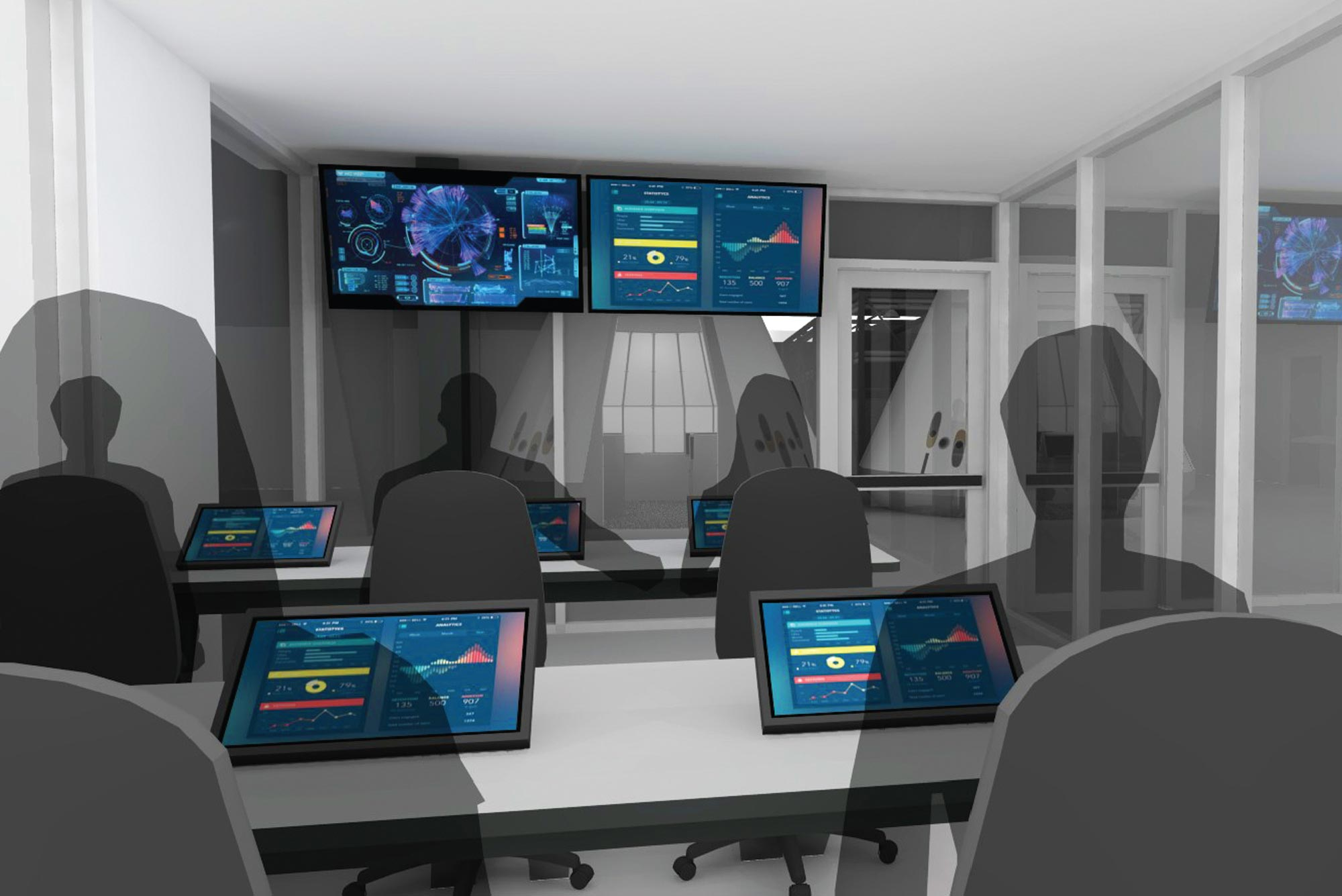 ATX control room rendering
