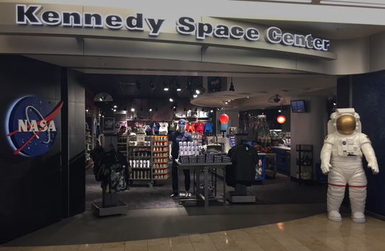 NASA KSC Airport Store