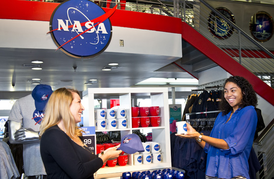 Shopping at Kennedy Space Center Visitor Complex