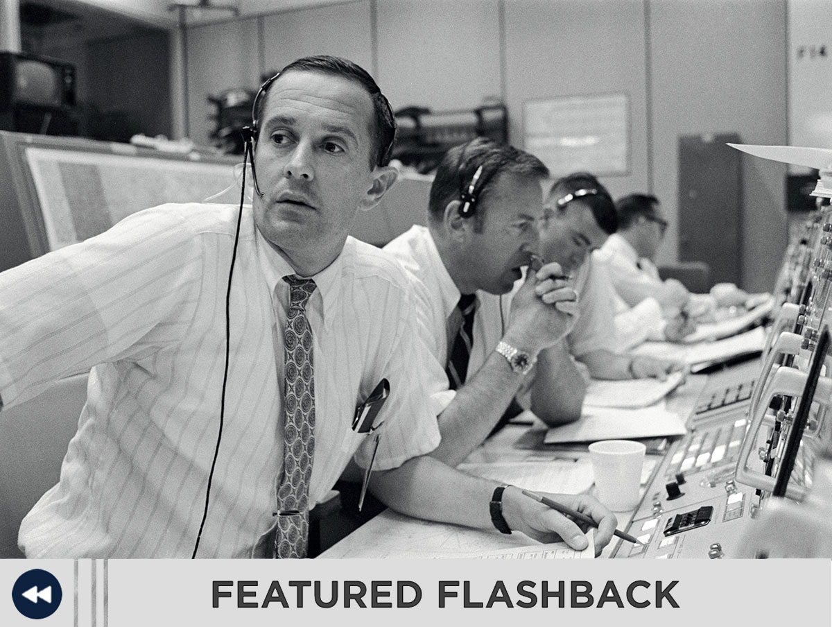 As the world watched the outcome of Apollo 11, the first attempted lunar landing, employees in the NASA Mission Control Center held their breaths during the entire descent.